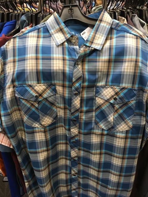 Kuhl short sleeve snap button shirt