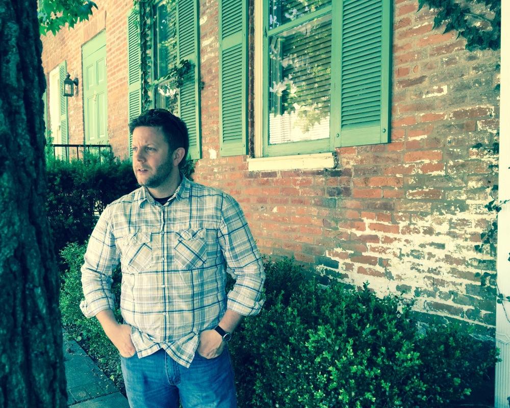 Wearing first western snap button shirt.