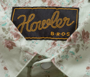 Howler Brothers shirt tag featuring rope text.
