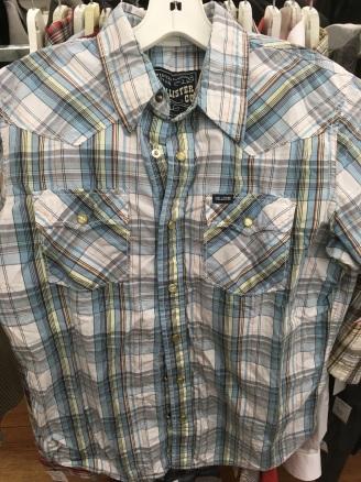 Hollister western snap button shirt