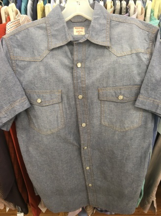 Mossimo western snap button shirt