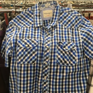 American Eagle Outfitter western snap button shirt