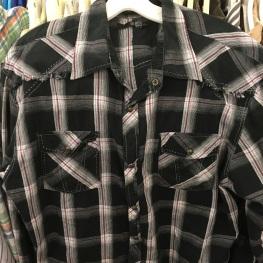 western snap button shirt