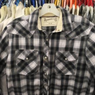 Roebuck & Co. western snap button shirt