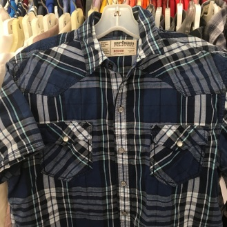 Urban Pipeline western snap button shirt