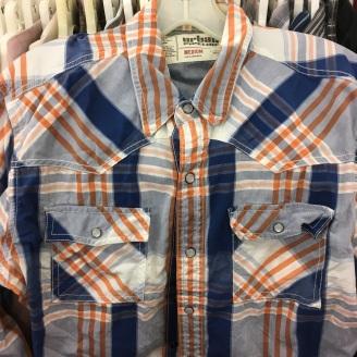 Urban Pipeline western snap button shirt
