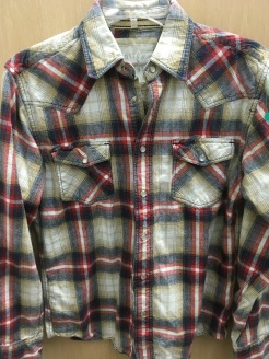 Ditch Plain western snap button shirt