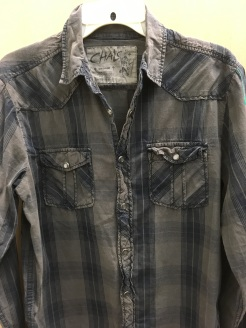 Chalc western snap button shirt