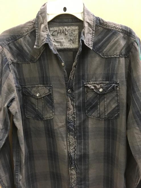 Chalc western snap button shirt