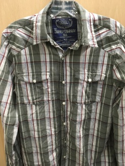 GPH Supply Company western snap button shirt
