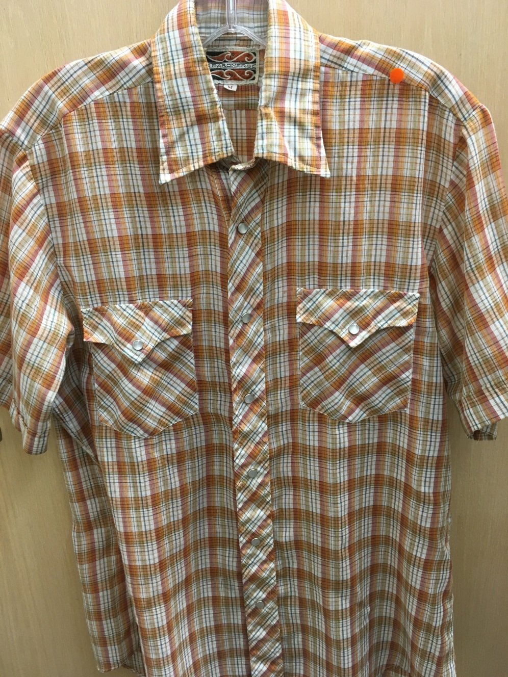 Pardners western snap button shirt