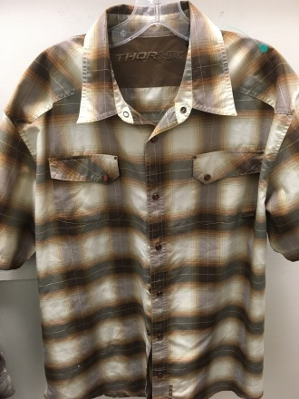 Thor MX western snap button shirt