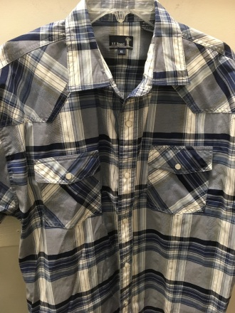 RK Brand western snap button shirt
