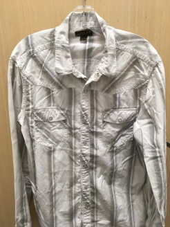 Helix western snap button shirt