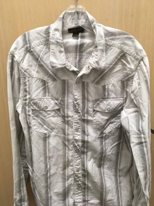 Helix western snap button shirt