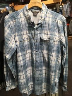 ExOfficio snap button shirt