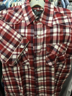 Kenith Parker snap button shirt