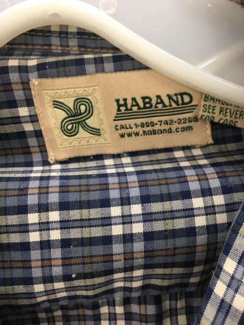 Haband snap button shirt