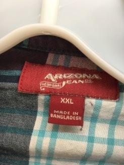 Arizona Jeans Co. snap button shirt