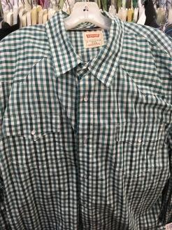 Levi's snap button shirt