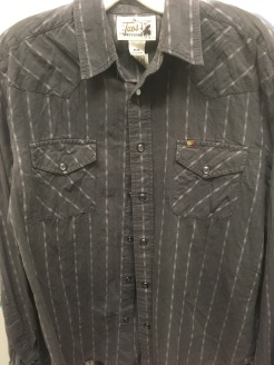 Western snap button shirt