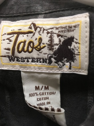 snap button shirt tag