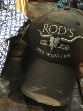 Rod's True Western baseball cap
