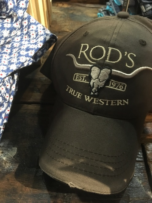 Rod's True Western baseball cap