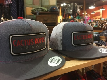 Cactus Ropes Texas trucker caps