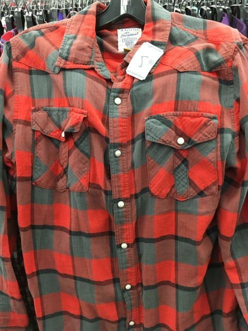 44mm western snap button shirt