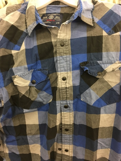 American Eagle Outfitters western snap button shirt