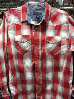 American Rag western snap button shirt