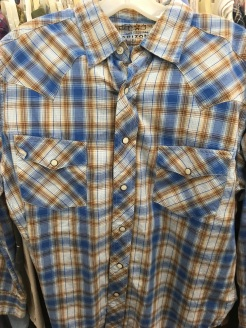 Arizona Jean western snap button shirt