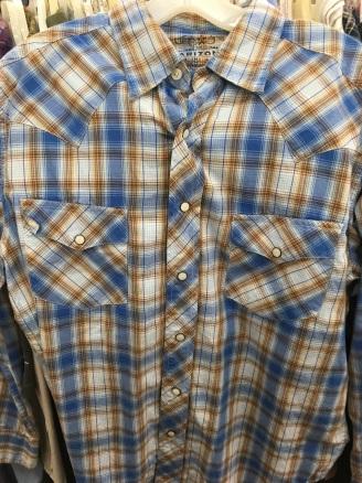 Arizona Jean western snap button shirt