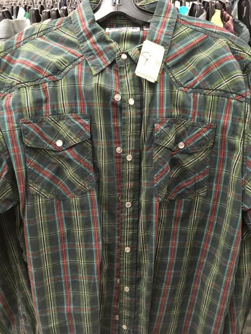 Emcee western snap button shirt