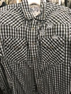 Guess western snap button shirt