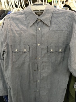 Moment of Truth western snap button shirt