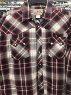 Wrangler western snap button shirt