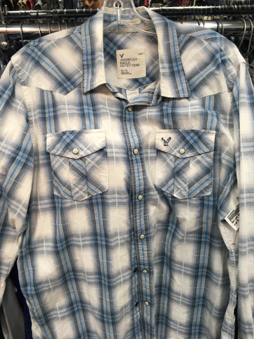 Western snap butto shirt