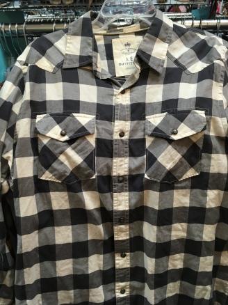 Snap button shirt