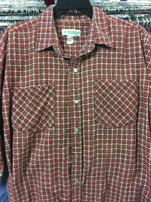 Haband snap button shirt