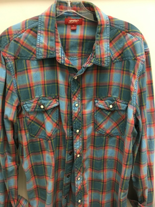 Arizona Jeans western snap button shirt
