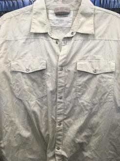 Calvin Klein Jeans western snap button shirt