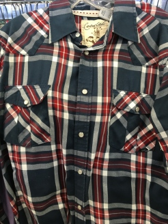 Coastal snap button shirt