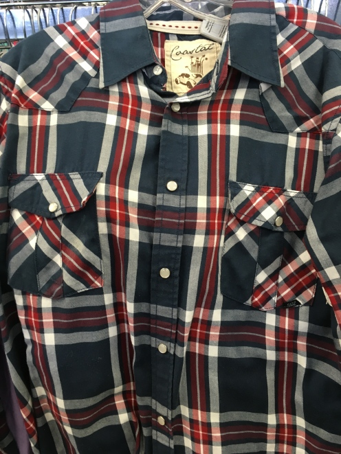 Coastal snap button shirt