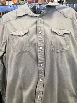 Levis western snap button shirt found at a Plato's Closet.