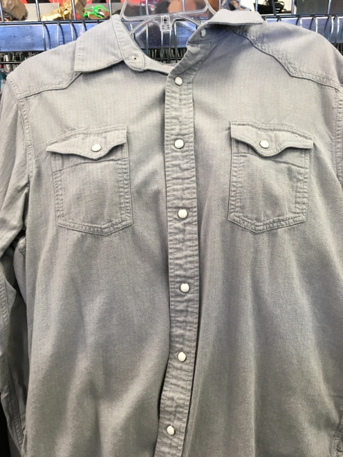 Levis western snap button shirt found at a Plato's Closet.