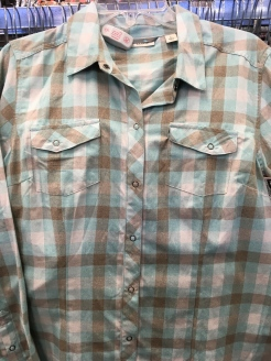 LL Bean snap button shirt found at a Plato's Closet.