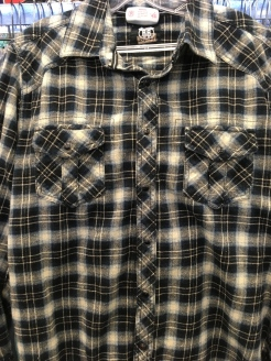 Route 66 snap button shirt