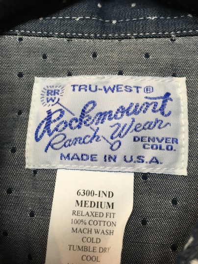 Rockmount Ranch Wear is located in Denver. Colorado and has been in the same family for multiple generations.